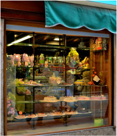 Pastry Shop in Venice Italy, Sweets in Venice Italy, Eating in Venice Italy, Food in Venice Italy, Food Tours in Venice Italy