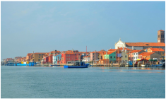 Boat Tours in Venice Italy, Islands in the Lagoon of Venice, Sightseeing in Venice Italy, Boat Ride in Venice Italy
