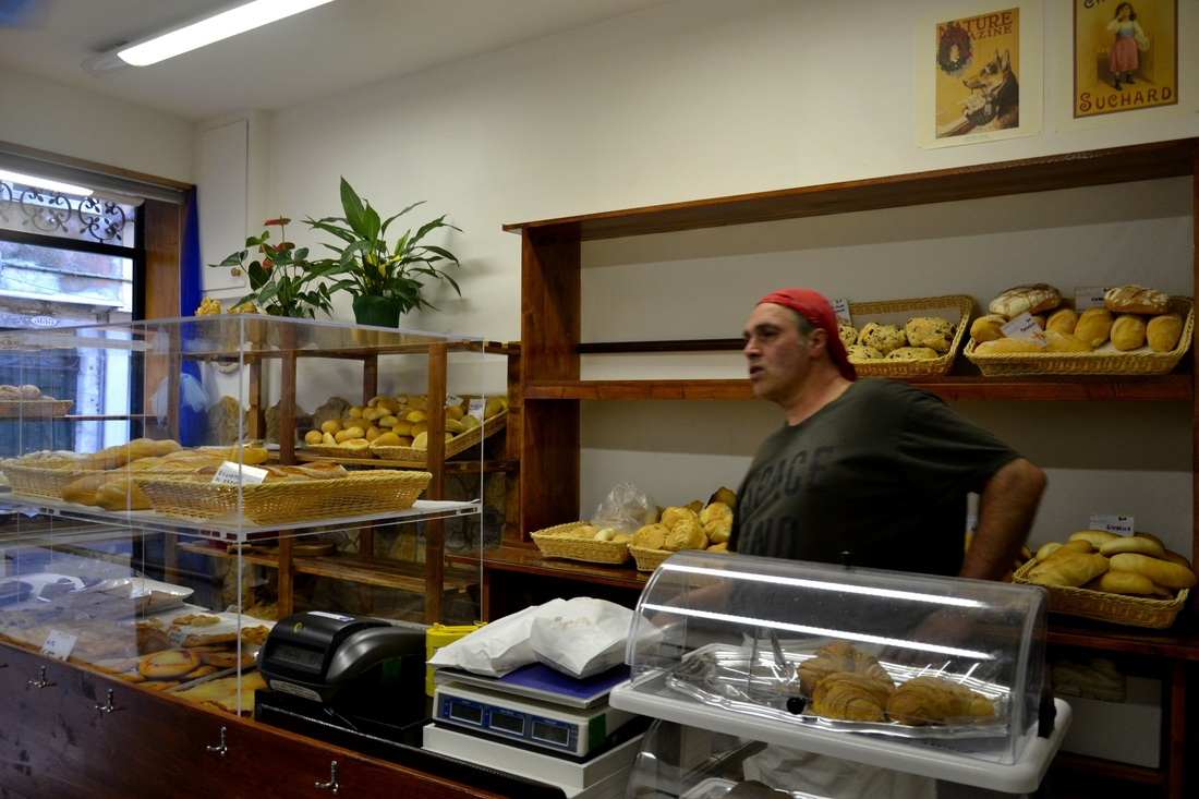 Bakery in Venice Italy, Bakery in Castello Venice, Organic Bakery in Venice Italy