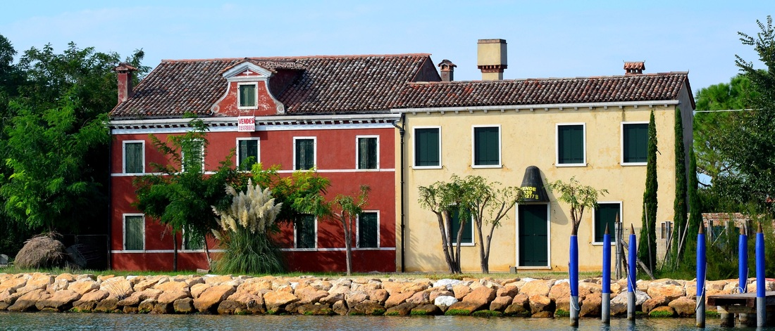 Mazzorbo Island Venice, Houses for Sale Venice Italy