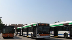 Piazzale Roma Venice Italy, Busses at Piazzale Roma Venice